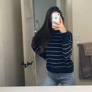 Brandy Melville Striped Sweater 💙